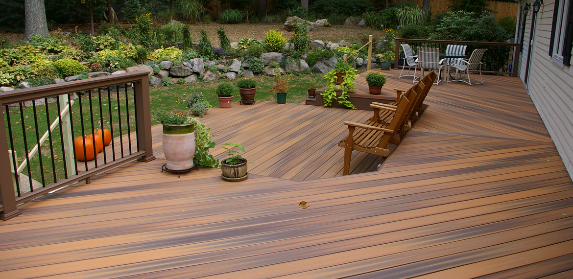 Chicago decking material wholesale decks railing for Best composite decking material